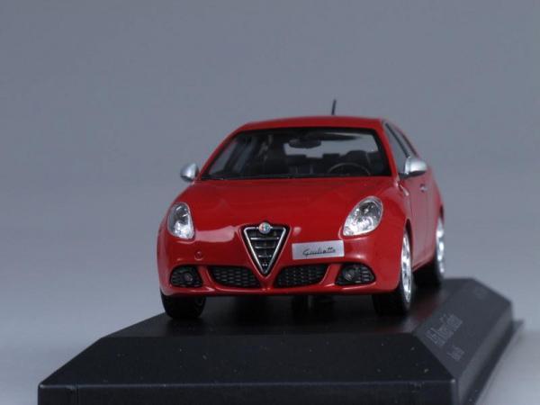 Alfa Romeo GIULIETTA (Minichamps) [2010г., Красный, 1:43]