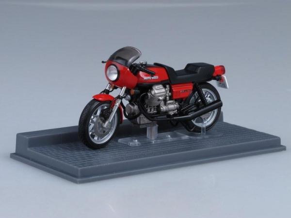Moto Guzzi Le Mans (IXO) [1978г., Красный, 1:24]