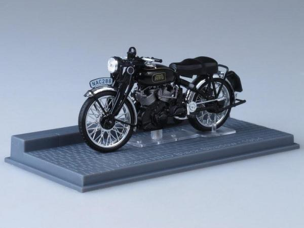 Vincent HRD Black Shadow (IXO) [1954г., Черный, 1:24]
