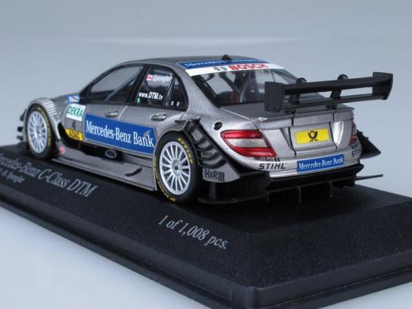 Mercedes-Benz C-Class DTM Team AMG-Mecedes B.Spengler (Minichamps) [2010г., Серебристый металлик, 1:43]