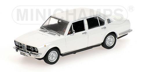 Alfa Romeo Alfetta 1.8 (Minichamps) [1972г., Белый, 1:43]