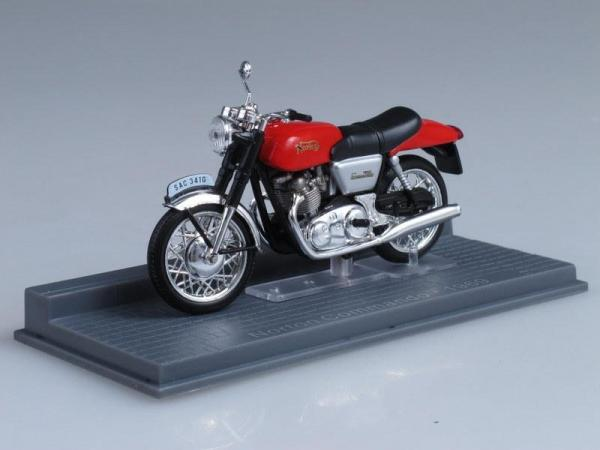 Norton Commando (IXO) [1969г., Красный, 1:24]