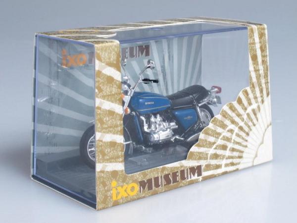 Honda GL1000 GoldWing (IXO) [1975г., Синий, 1:24]