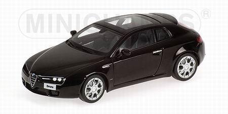 Alfa Romeo Brera (Minichamps) [2005г., Черный, 1:43]