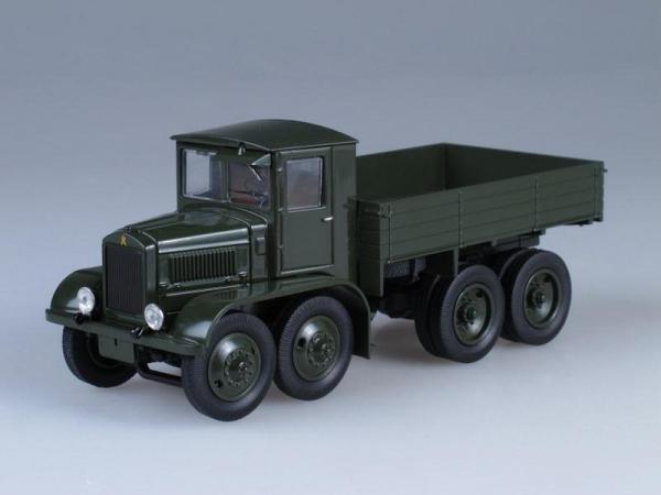ЯГ-12 8х8 (ULTRA Models) [1932г., Темно-зеленый, 1:43]