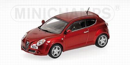 Alfa Romeo MITO (Minichamps) [2008г., Красный металлик, 1:43]