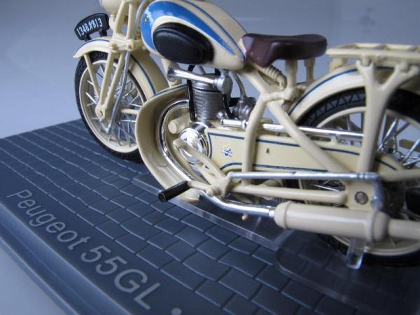 Peugeot 55GL (IXO) [1951г., Бежевый, 1:24]