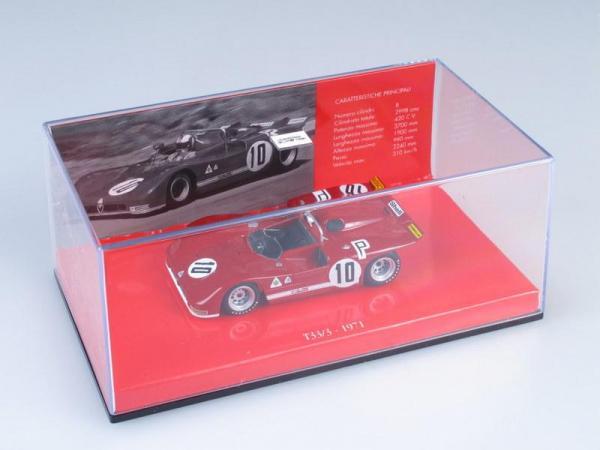 Alfa Romeo T33/3 STOMMELEN/GALLI ADAC 1000 km Nurburgring (Minichamps) [1971г., Красный, 1:43]