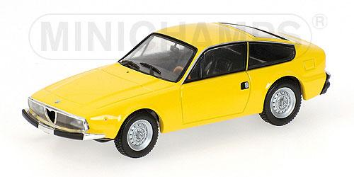 Alfa Romeo 1600 JUNIOR Z (Minichamps) [1972г., Желтый, 1:43]