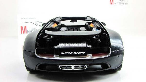 BUGATTI VEYRON SUPER SPORT (Autoart) [2009г., Черный, 1:18]
