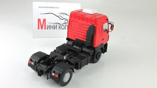 МАЗ-5440А9 (BY.VOLK) [1995г., Красный/черный, 1:43]