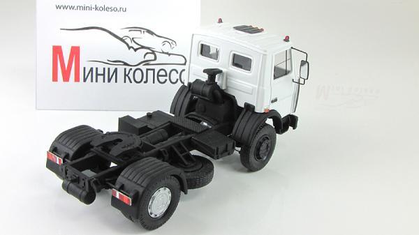 МАЗ-54431 (BY.VOLK) [1995г., белый/черный, 1:43]