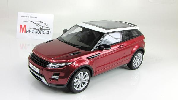 Range Rover Evoque (Century Dragon) [2011г., Красный, 1:18]