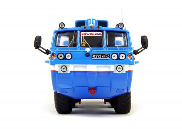 ЗиЛ-49061 Синяя птица (с интерьером) (DiP Models) [1975г., Синий, 1:43]