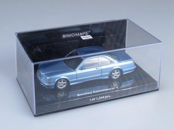 Bentley Continental T (Minichamps) [1996г., Лазурный металлик, 1:43]