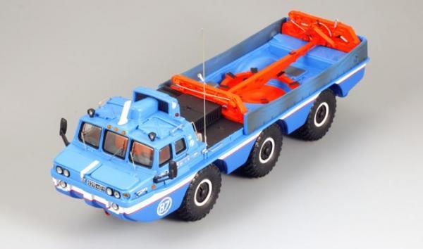 ЗиЛ-49060 Синяя птица (с интерьером) (DiP Models) [1975г., Синий, 1:43]