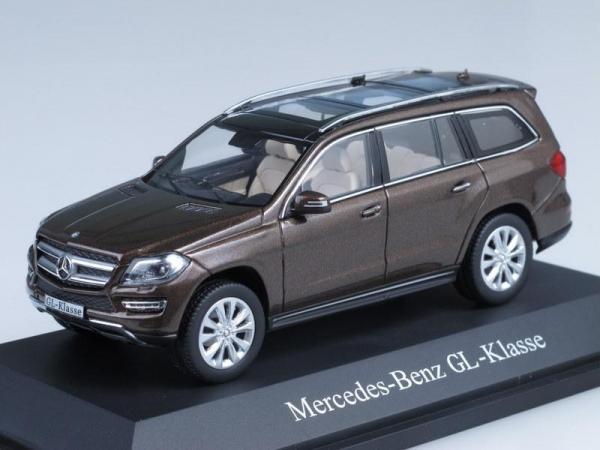 Mercedes-Benz GL-Klasse X166 (Minichamps) [2012г., Коричневый, 1:43]