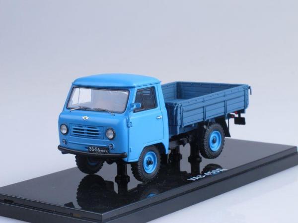 УАЗ-450Д (DiP Models) [1958г., Голубой, 1:43]