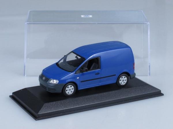 Volkswagen Caddy (Minichamps) [2005г., Синий, 1:43]