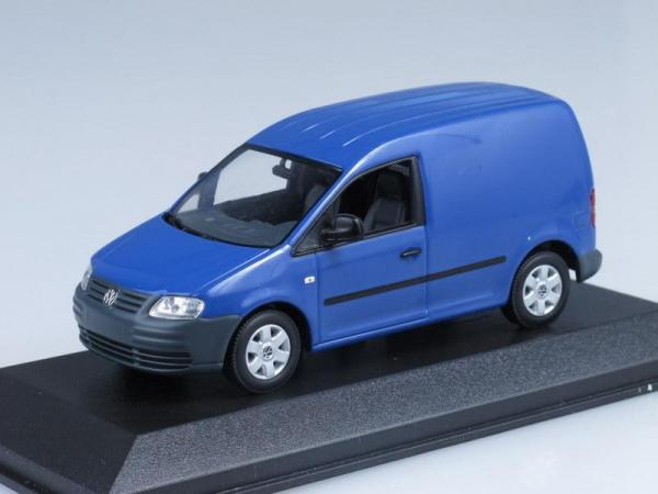 Volkswagen Caddy (Minichamps) [2005г., Синий, 1:43]