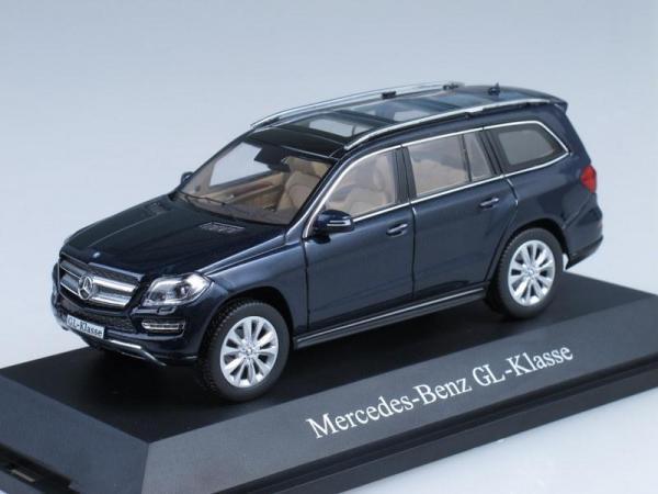 Mercedes-Benz GL-Klasse X166 (Minichamps) [2012г., Черный, 1:43]
