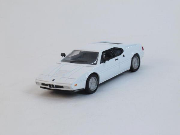 BMW M1 (DeAgostini (Суперкары мира)) [1978г., Белый, 1:43]