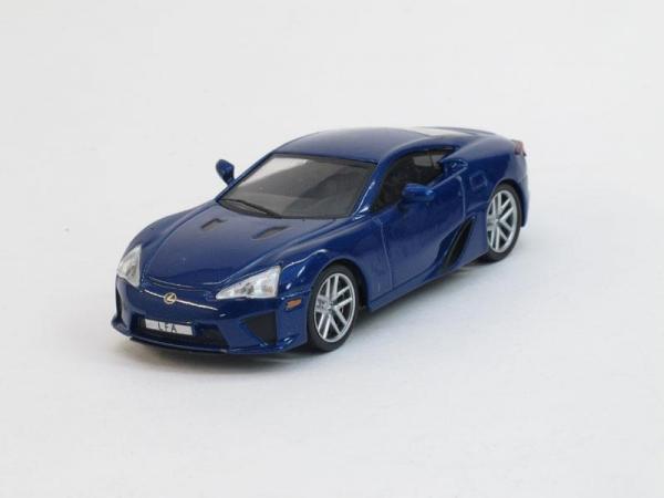 Lexus LFA (DeAgostini (Суперкары мира)) [2010г., Синий металлик, 1:43]