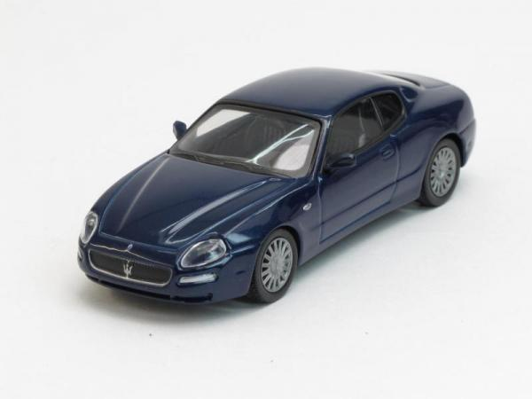 Maserati Coupe (DeAgostini (Суперкары мира)) [2001г., Темно-синий, 1:43]