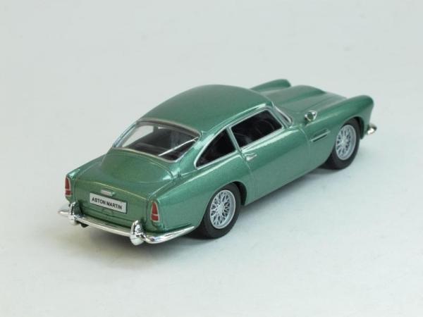 Aston Martin DB4 Coupe (DeAgostini (Суперкары мира)) [1960г., Берюзовый, 1:43]