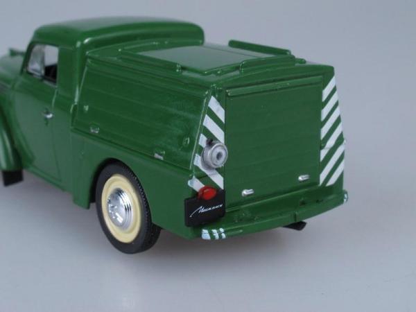 АПА-7 Аэродромно-Пусковая установка (DeAgostini (Автомобиль на службе)) [1963г., Зеленый, 1:43]