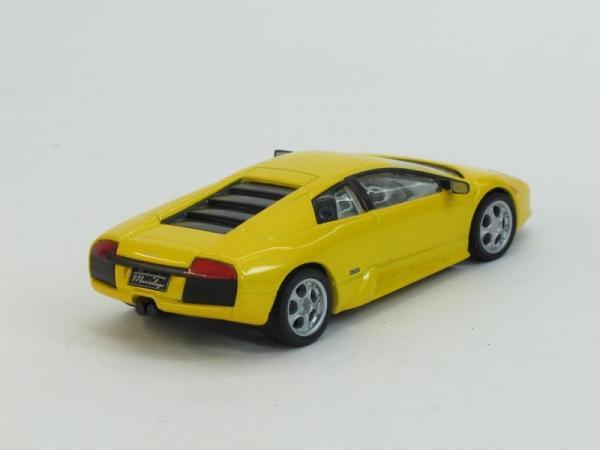 Lamborghini Murcielago (DeAgostini (Суперкары мира)) [2001г., Желтый, 1:43]