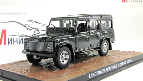 LAND ROVER Defender (Atlas/IXO) [2006г., Черный, 1:43]