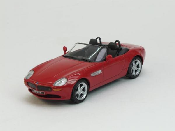 BMW Z8 (DeAgostini (Суперкары мира)) [2003г., Красный, 1:43]