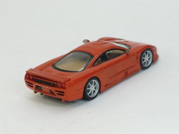 Saleen S7R (DeAgostini (Суперкары мира)) [2009г., Красный, 1:43]