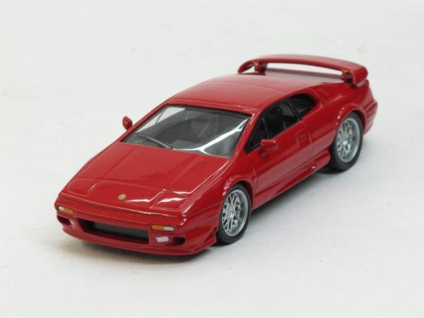 Lotus Esprit V8 (DeAgostini (Суперкары мира)) [1977г., Красный, 1:43]