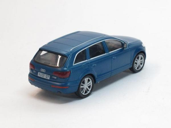 Audi Q7 (DeAgostini (Суперкары мира)) [2005г., Темно-лазурный, 1:43]