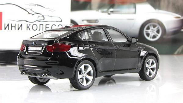 BMW X6 M (DeAgostini (Суперкары мира)) [2008г., Черный, 1:43]