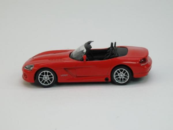Dodge Viper SRT-10 (DeAgostini (Суперкары мира)) [2008г., Красный, 1:43]