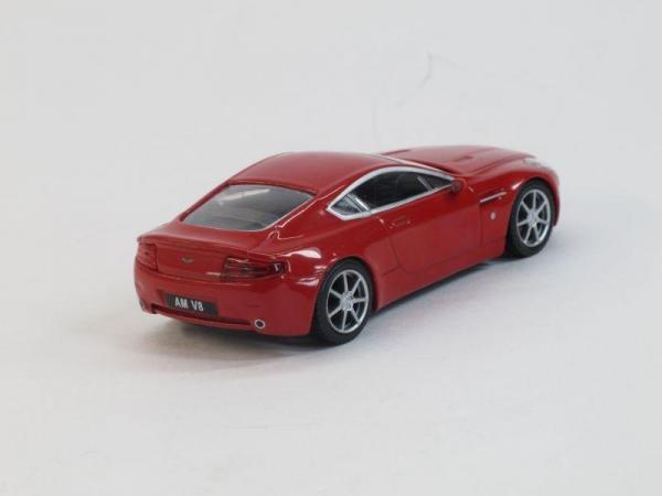 Aston Martin AM V8 (DeAgostini (Суперкары мира)) [2005г., Красный, 1:43]