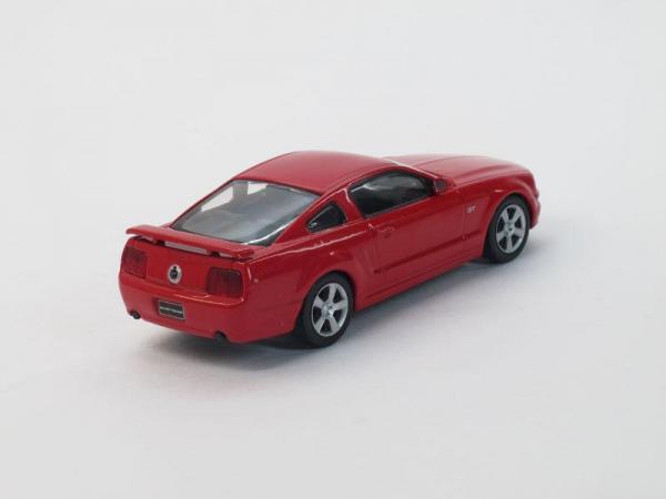 Ford Mustang GT (DeAgostini (Суперкары мира)) [2010г., Красный, 1:43]