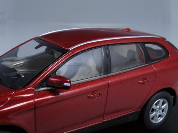 Volvo XC60 (Motorart) [2008г., Красный металлик, 1:43]
