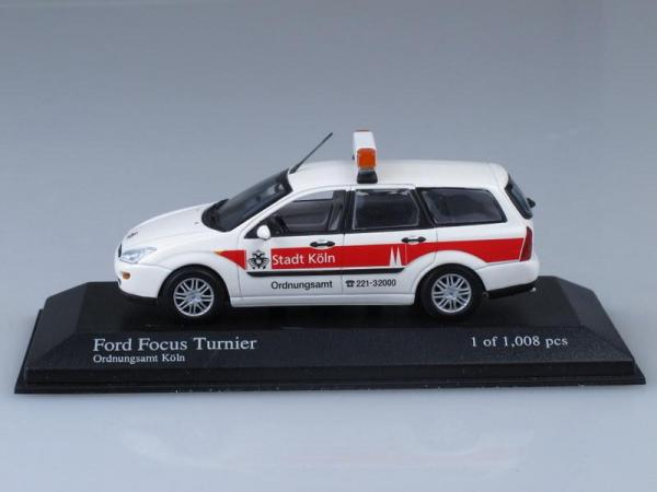 Ford Focus Turnier (Minichamps) [1999г., Белый, 1:43]