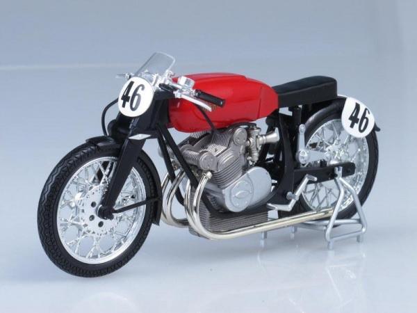 Gillera 500 Umberto Masetti (IXO) [1950г., Красный, 1:12]