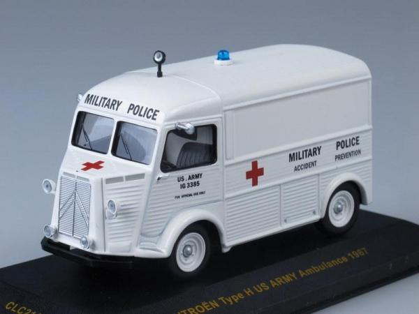 Citroen Type H US Army Ambulance (IXO) [1967г., Белый, 1:43]