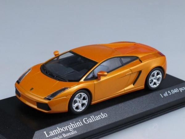Lamborghini Gallardo (Minichamps) [2004г., Оранжевый металлик, 1:43]