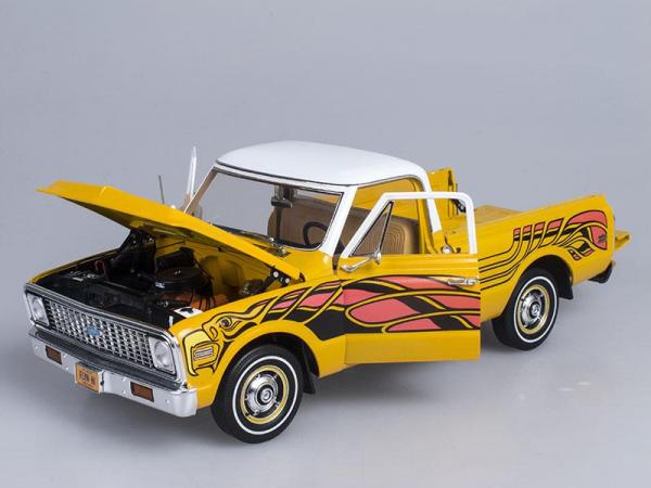 Chevrolet Fleetside Pick Up (Highway 61) [1972г., Желтый, 1:43]