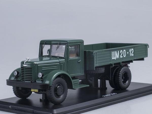 ЯАЗ-200 бортовой (Start Scale Models (SSM)) [1951г., Темно-зеленый, 1:43]