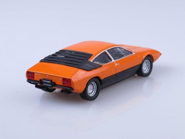 Lamborghini Urraco (DeAgostini (Суперкары мира)) [1973г., Оранжевый, 1:43]