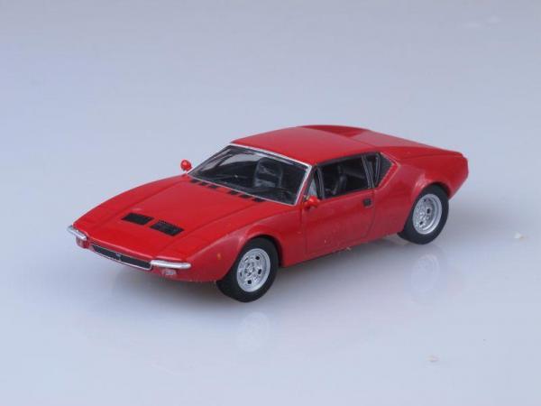 De Tomaso Pantera GTS (DeAgostini (Суперкары мира)) [1970г., Красный, 1:43]