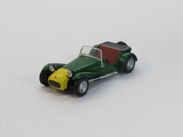 Lotus Seven (DeAgostini (Суперкары мира)) [2003г., Зеленый, 1:43]
